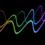 rainbow waves of colour